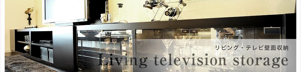 リビング・テレビ壁面収納